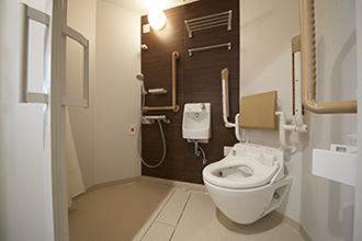 個室(ユニットシャワー付トイレ)