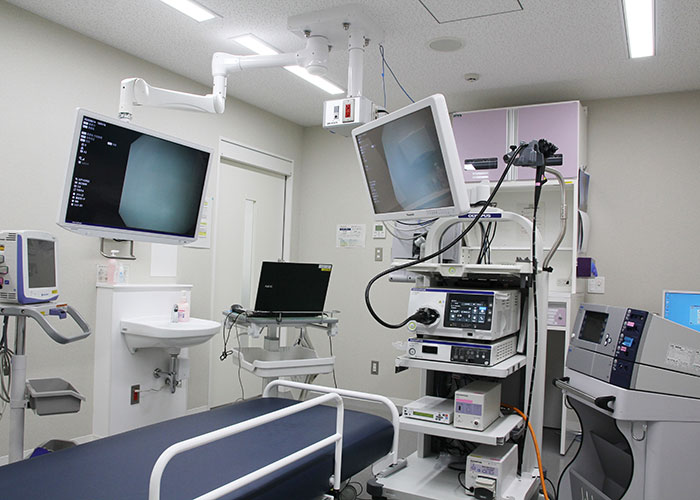 上部消化管内視鏡検査・処置室