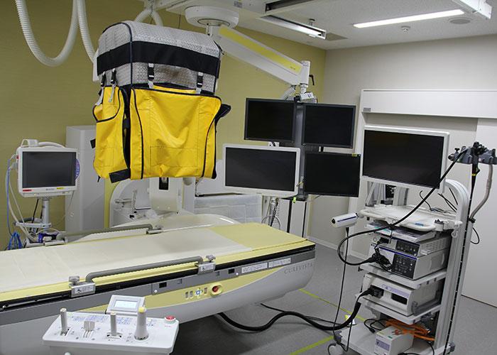 内視鏡室内X線透視室