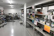 臨床工学技術部中央管理器材庫